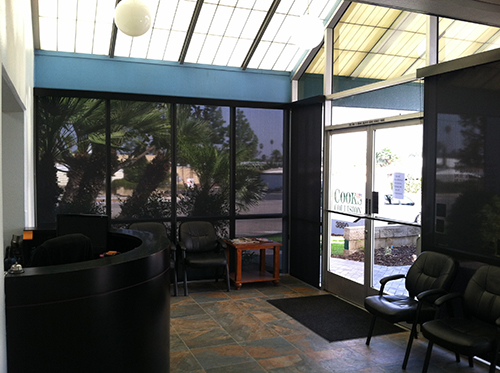 Commercial Window Coverings Installation